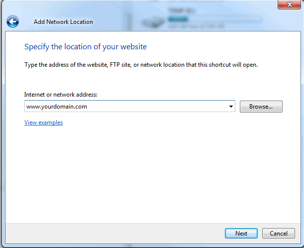 FTP windows7b
